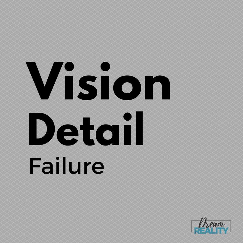 Vision Detail Failure